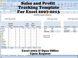 monthly profit template monthly sales report excel profit per