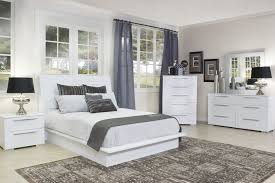 the delta king bed in white mor furniture for less
