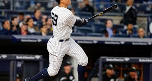 Aaron Judge Made His Mlb Debut In Center Field - aaron judge has officially made it because he has his own john