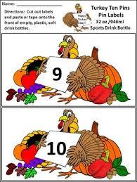 thanksgiving pins thanksgiving activities turkey ten pins thanksgiving by