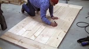 Build A Wooden Table Top by How To Build A Farmhouse Table