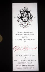 Sweet 16 Invitations Cards 44 Best Party Phantom Of The Opera Images On Pinterest Phantom