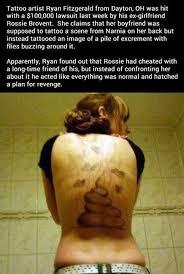 Tatto Meme - tattoo artist stinky revenge funny meme funny memes