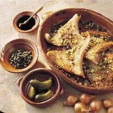 cuisiner la raie au four raie braisée au four recettes allrecipes québec