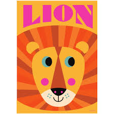 lion print zanders and sons lion print an ingela p arrhenius poster
