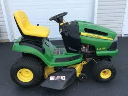 john deere x125 riding lawn mower john deere x100 series lawn