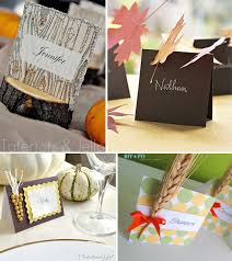 thanksgiving placecard ideas the celebration shoppe