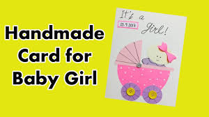 handmade card for newborn baby baby card ideas