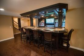 warrantied basement remodeling by certified contractors in novi