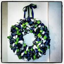 seahawk ribbon 24 best seahawks wreaths images on seahawks football