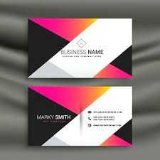 template business card cdr business card design template creative bright business card design