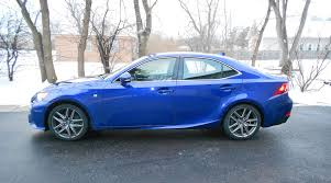 lexus is 300 turbo road test review 2016 lexus is200t f sport