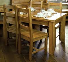 Oak Extending Dining Table And  Chairs BNMX - Dining room furniture michigan