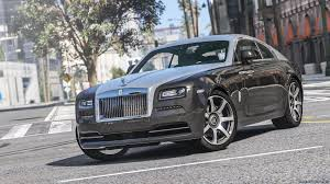 roll royce gta royce wraith add on replace animated 1 1a для gta 5