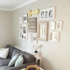 wall with white frame decoration vintage wooden frame decoration