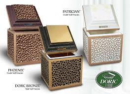 urn vaults the doric family of products doric products inc