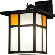 Craftsman Style Ceiling Light Craftsman Style Ceiling Light Park Clear Frosted Inside Solar