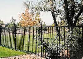 ornamental wrought iron fences