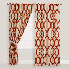 popular curtains popular on pinterest rust ethel flocked chambray tab top curtains