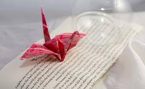 origami crane ornament origami paper handmade decoration