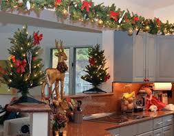 Decorating Ideas For Above Kitchen Cabinets Decorating Above Kitchen Cabinets Christmas Home Design Ideas