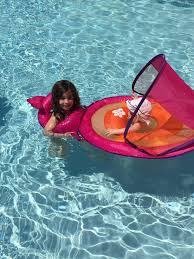 Swimways Baby Spring Float Sun Canopy Blue by Summer Must Haves For Families New York Family Magazine