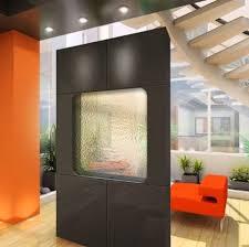 kitchen glass wall panels designs chic half glass black interior