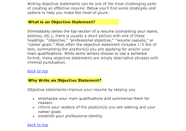 sle resume objective statements for management staggering objective statement for resumes resume exles