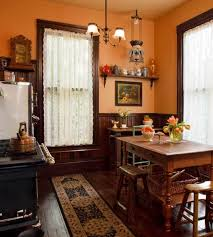 selecting curtains for your period kitchen old house restoration