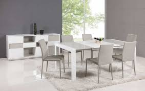Italian Dining Tables And Chairs Extendable Glass Top Leather Italian Dining Table And Chair Sets