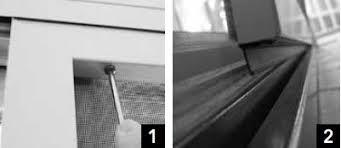 How To Remove Patio Door Removing Patio Doors Screens
