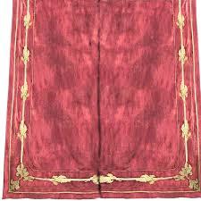 Braided Velvet Curtain Faupel Readymade Curtains