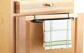 kitchen cabinet towel rail cabinet door towel holder door mounted towel rack over the door bath