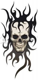 tribal skull designs az designs