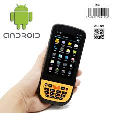 bar scanner for android rugged android 4 4 handheld device with 2d barcode scanner 3g wifi