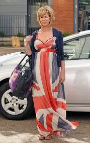 British Flag Dress Celebrities Wearing The Union Jack Geri Halliwell Kate Moss