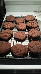 chewy double chocolate chip cookies recipe genius kitchen