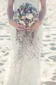 wedding bouquets with seashells 27 best flowers seashells images on weddings