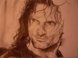 the lord of the rings drawings aragorn youtube