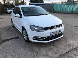 2016 vw polo white 1 2 tsi blue motion tech se hatchback cat d 1
