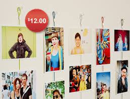 frameless picture hanging 10 frameless ways to display family photos magnets display and metals