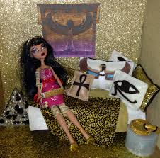 Monster High Doll House Furniture Monster High Cleo De Nile U0027s Room Monster High Egyptian Pyramid