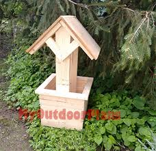 diy free octagon wishing well plans 15 well suited design building