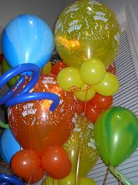 balloon telegram click pin for funky helium balloon bouquet delivery in the