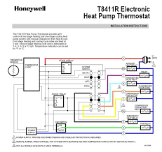 carrier heat pump thermostat wiring diagram on honeywellt8411r jpg