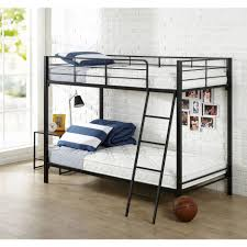 bunk beds twin over twin bunk bed mattress set of 2 kmart twin