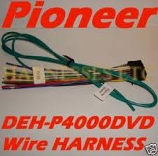 pioneer dvd wire harness avh p4100dvd avh p3100dvd new