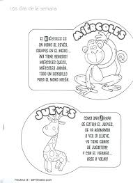 alphabet coloring pages in spanish spanish alphabet coloring pages days of the week in free