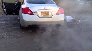 2010 nissan altima coupe jdm nissan altima coupe 3 5l straight pipe youtube