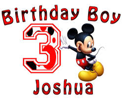 mickey mouse birthday mickey mouse boys birthday shirt